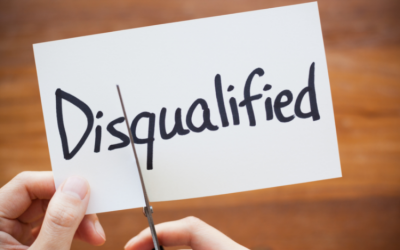 Are You Disqualifying Yourself in Your Life?
