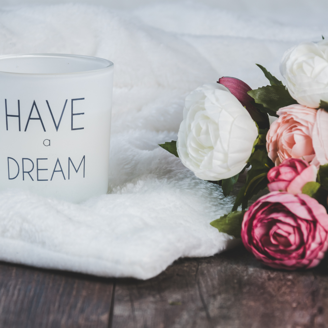 Have a dream coffee mug